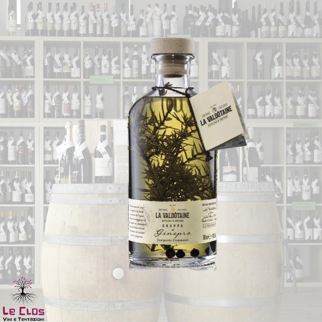 Distillato Grappa Blend Papà Marcel Ginepro La Valdotaine