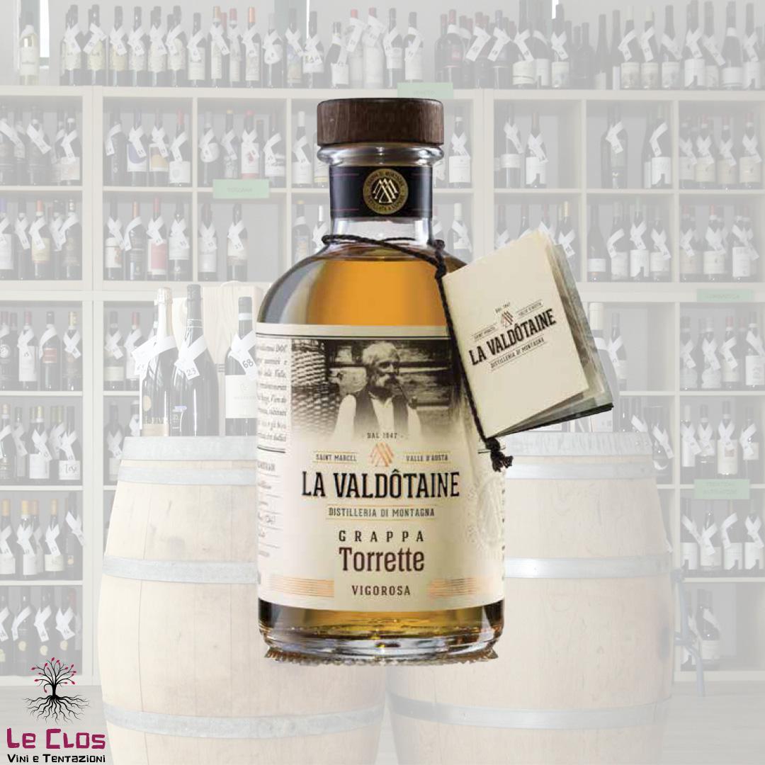 Distillato Grappa Torrette La Valdotaine