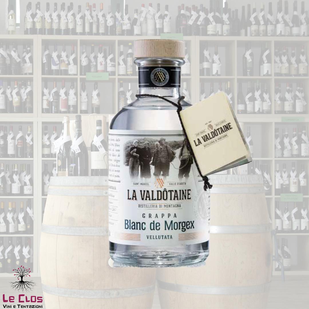 Distillato Grappa Blanc de Morgex La Valdotaine