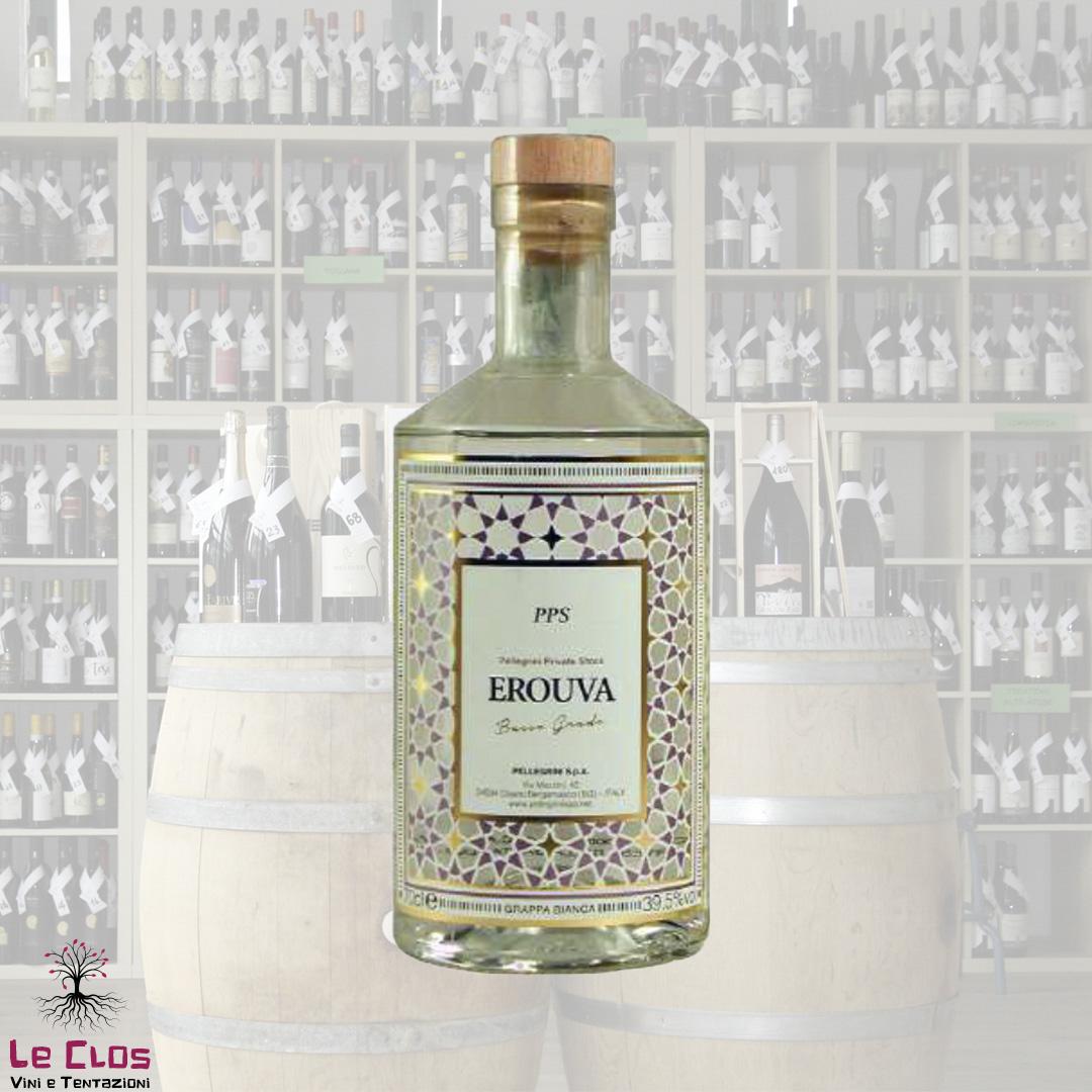 Distillato Grappa Bianca EroUva Private Stock Pellegrini