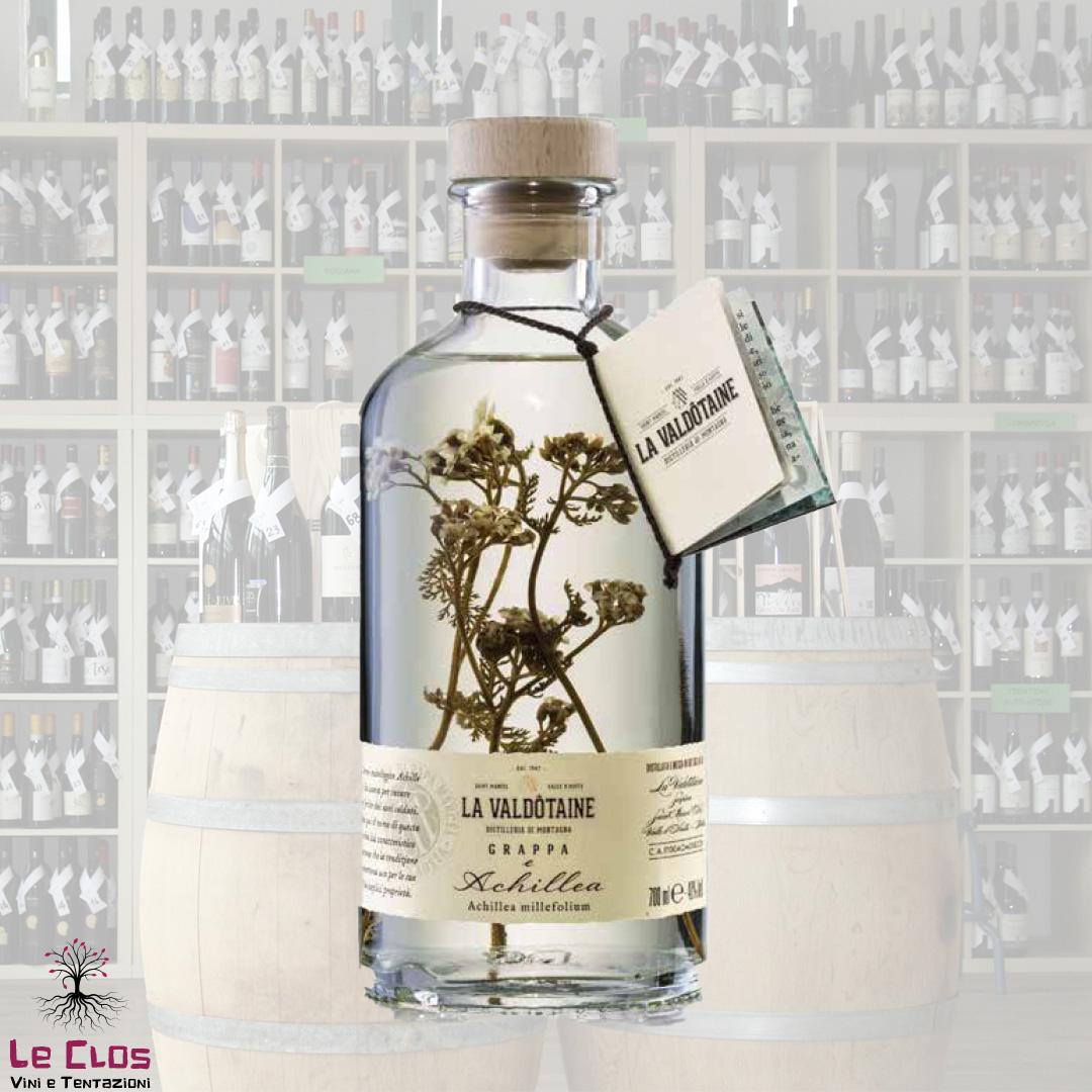 Distillato Grappa e Achillea, Blend Papà Marcel - La Valdotaine