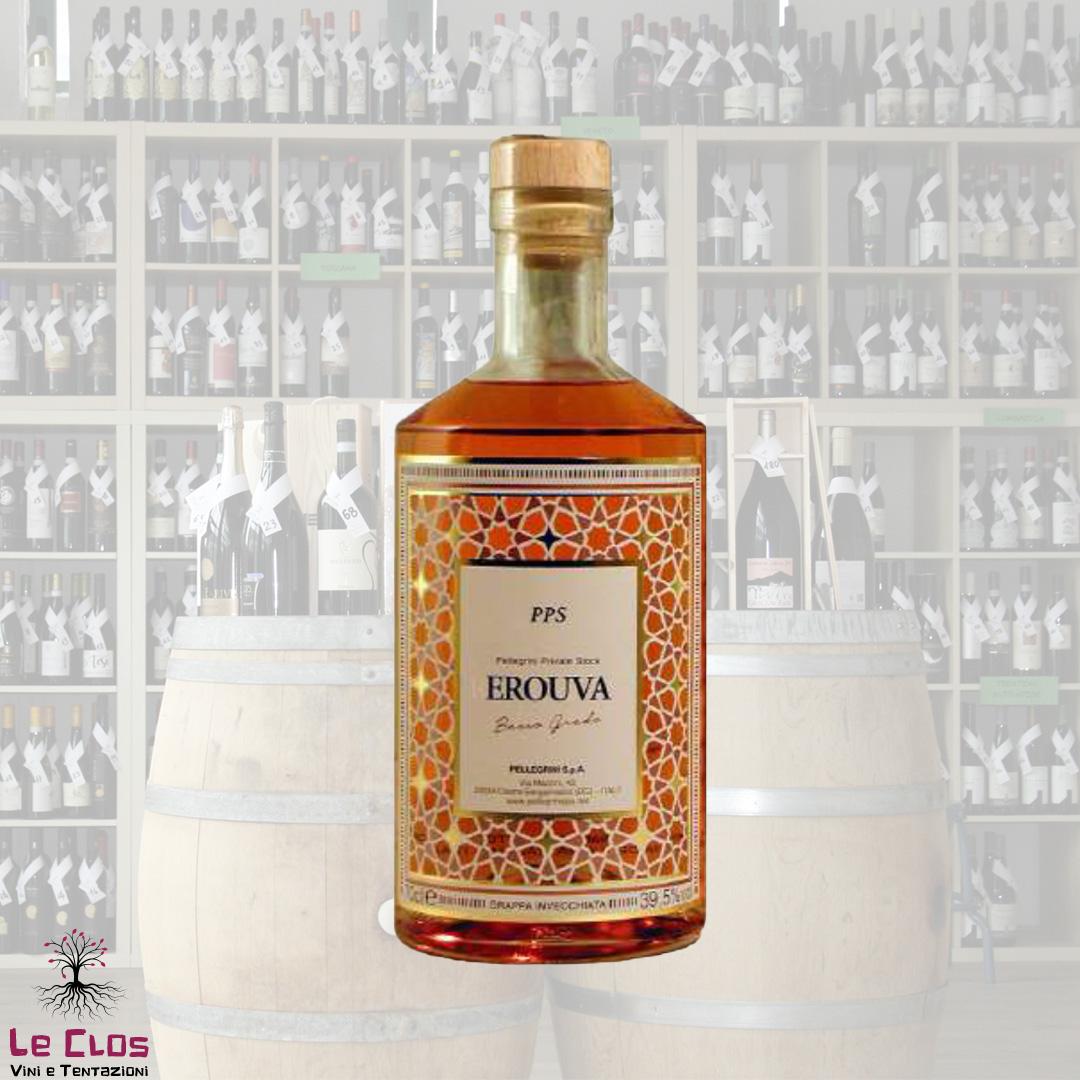 Distillato Grappa Invecchiata EroUva Private Stock Pellegrini
