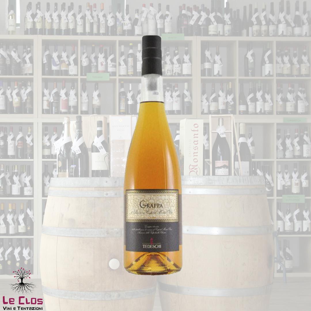 Distillato Grappa Stravecchia di Amarone Capitel Monte Olmi Fratelli Tedeschi