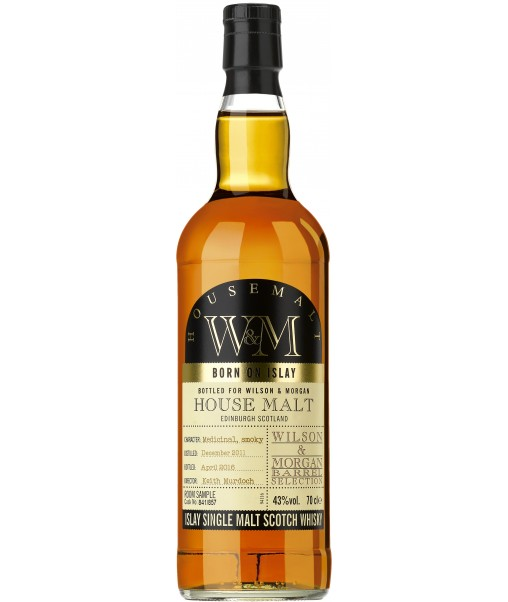 Confezione regalo Whisky House Malt Single Wilson & Morgan