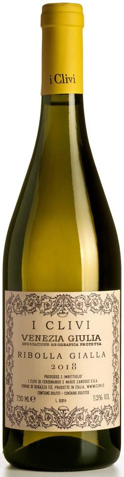 Vino bianco Ribolla Gialla