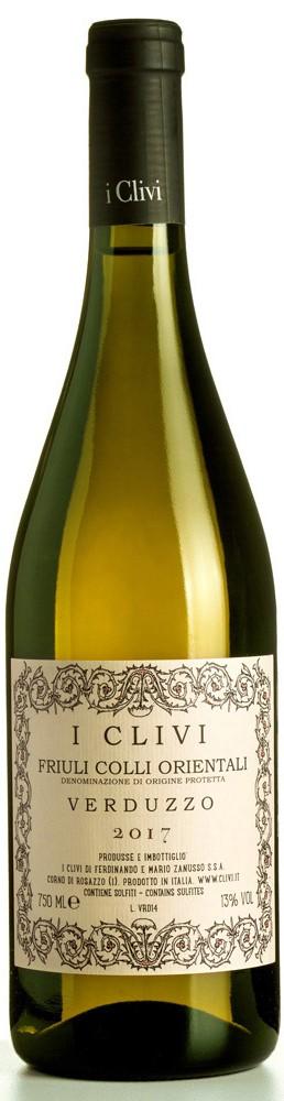 Vino bianco Verduzzo secco Colli Orientali del Friuli