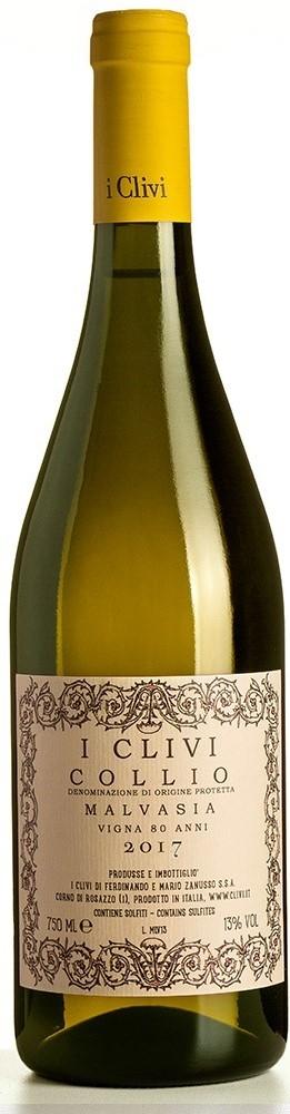 Vino bianco Malvasia Vigna 80 anni Istriana Collio