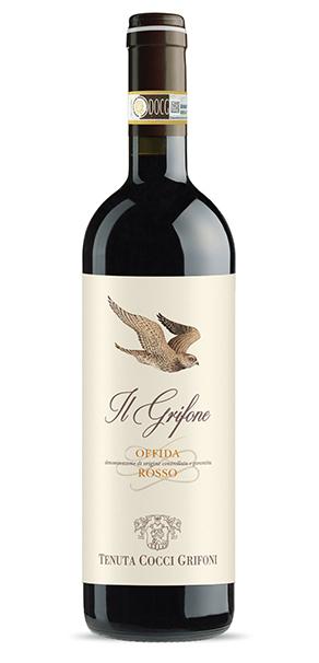Vino rosso Il Grifone Offida Rosso