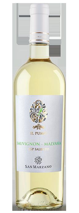 Vino bianco Il Pumo Sauvignon Malvasia Salento