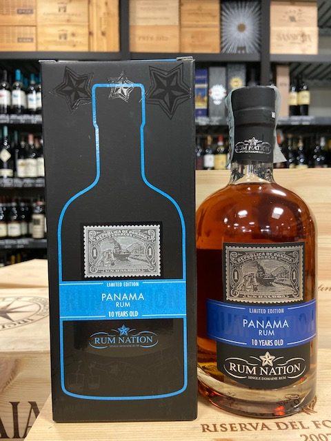 Distillato Rum Panama 10 YO Nation
