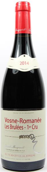 Vino rosso Vosne Romanée 1er Cru Le Brulées