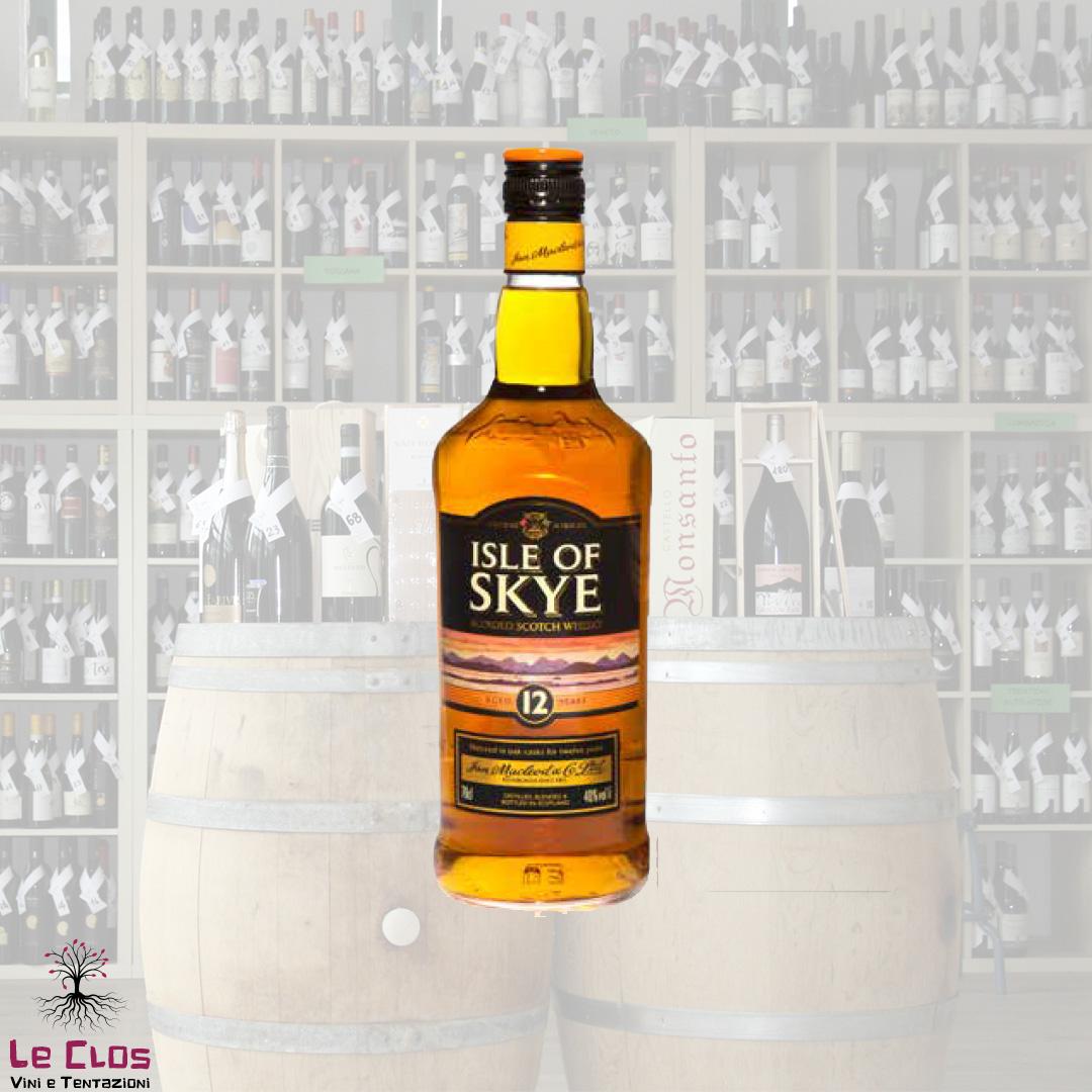 Distillato Whisky Blended Scotch Isle of Skye 12 anni Ian MacLeod