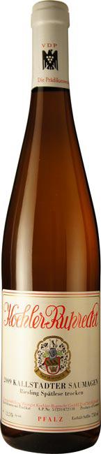 Vino bianco Kallstadter Saumagen Riesling Spätlese Trocken