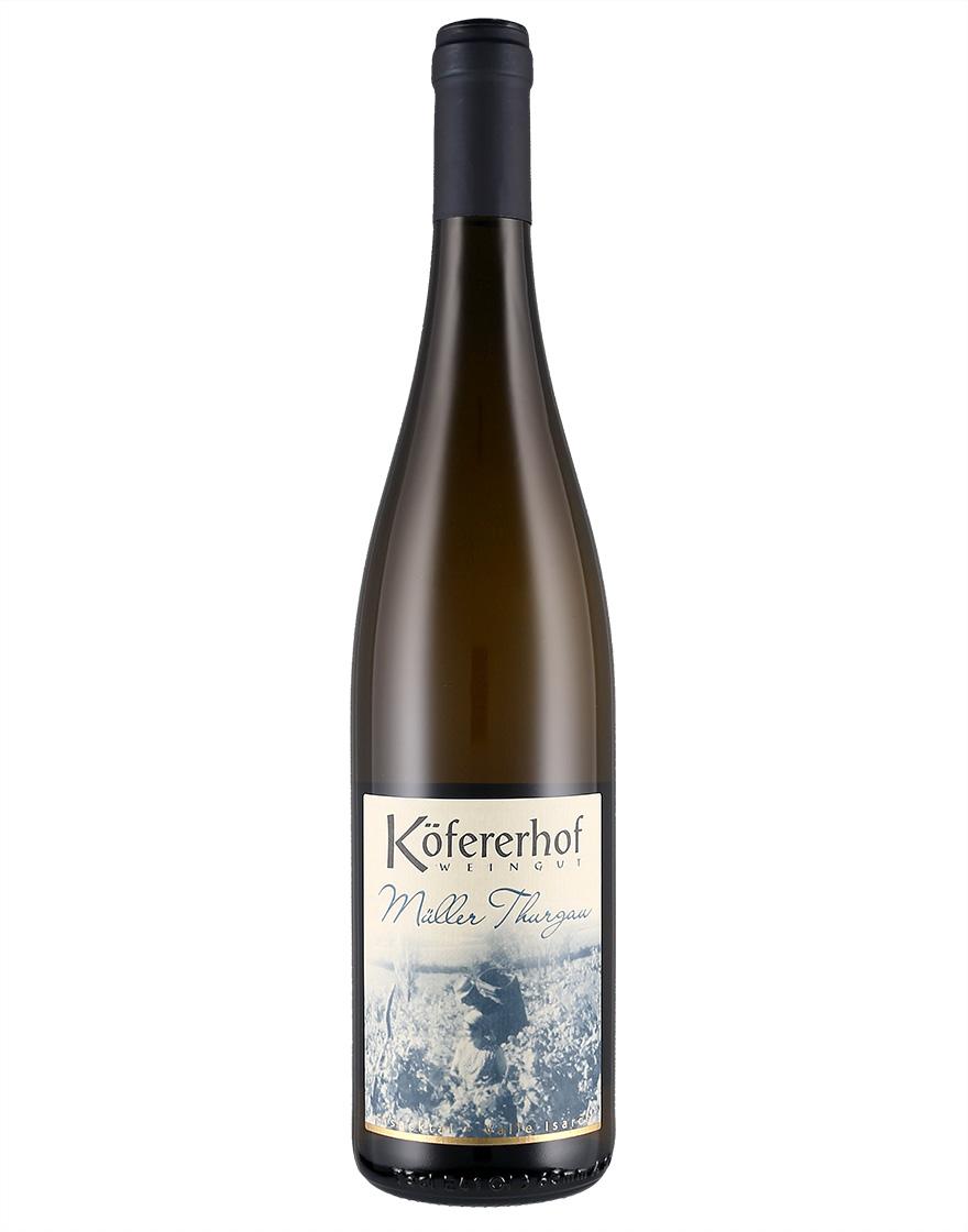 Vino bianco Muller Thurgau Valle Isarco