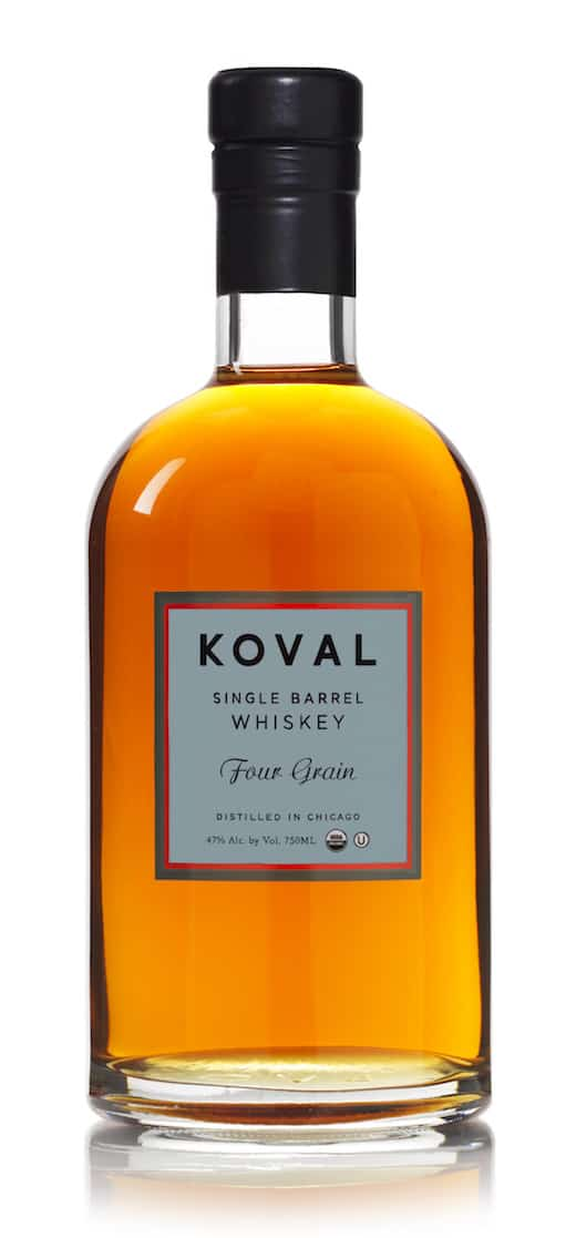 Distillato Whiskey Four Grain Single Barrel Biologico Koval