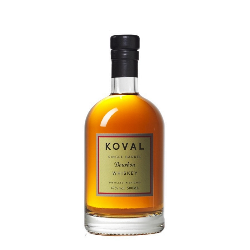 Distillato Whiskey Bourbon Single Barrel Biologico Koval
