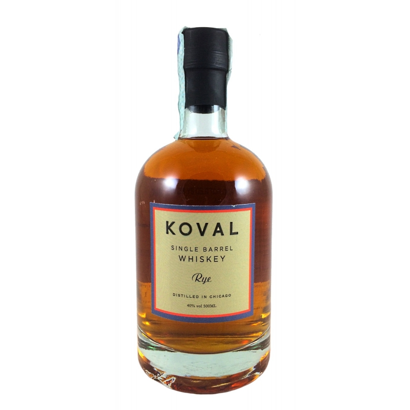Distillato Whiskey Rye Single Barrel Biologico Kosher Koval