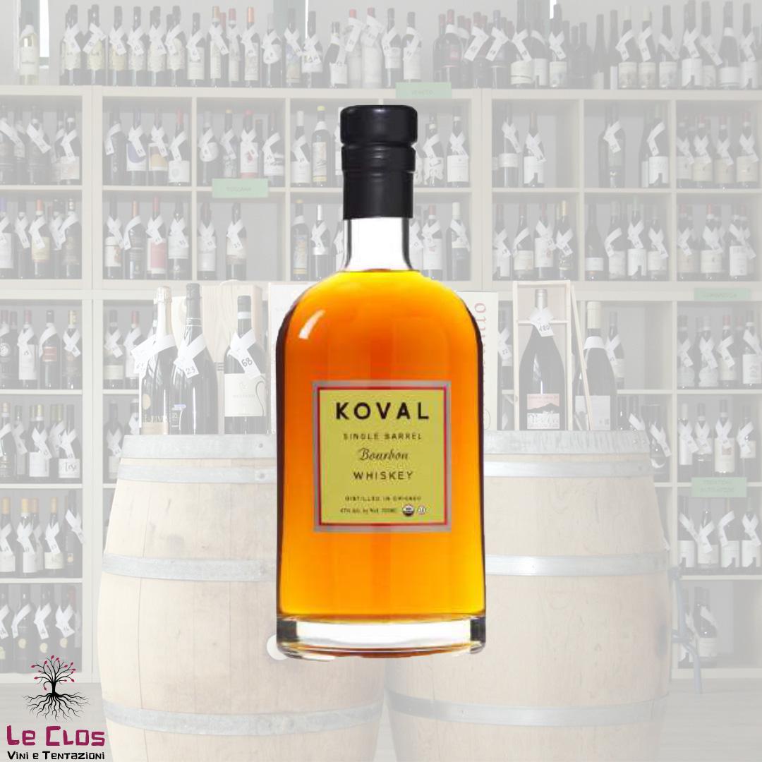 Distillato Whiskey Bourbon Single Barrel Biologico Koval