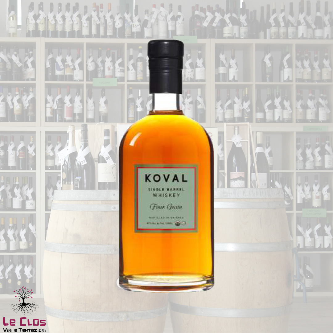 Distillato Whiskey Four Grain Single Barrel Biologico Koval