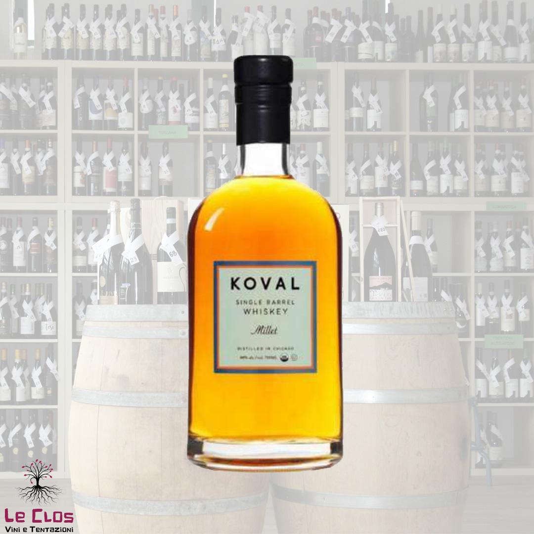 Distillato Whiskey Millet Single Barrel Biologico Koval