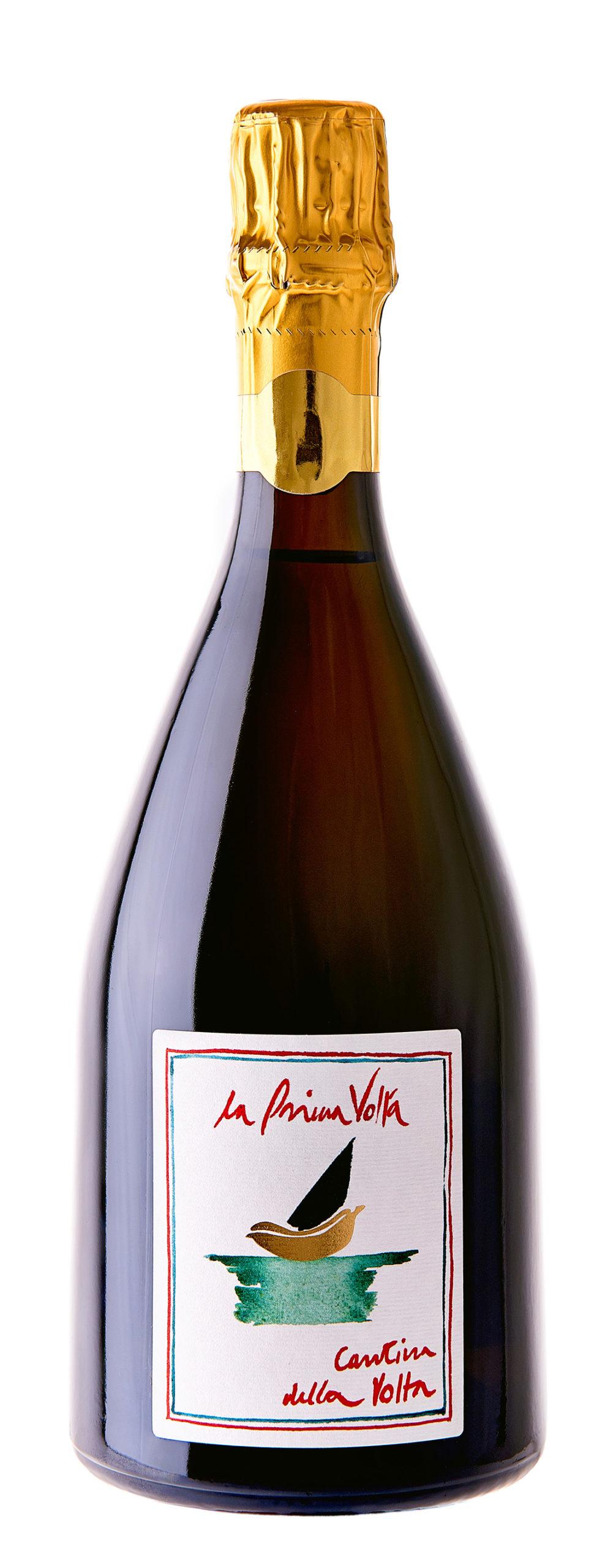 Vino rosso Spumante Metodo Classico La Prima Volta Lambrusco di Sorbara Rosato VSQ