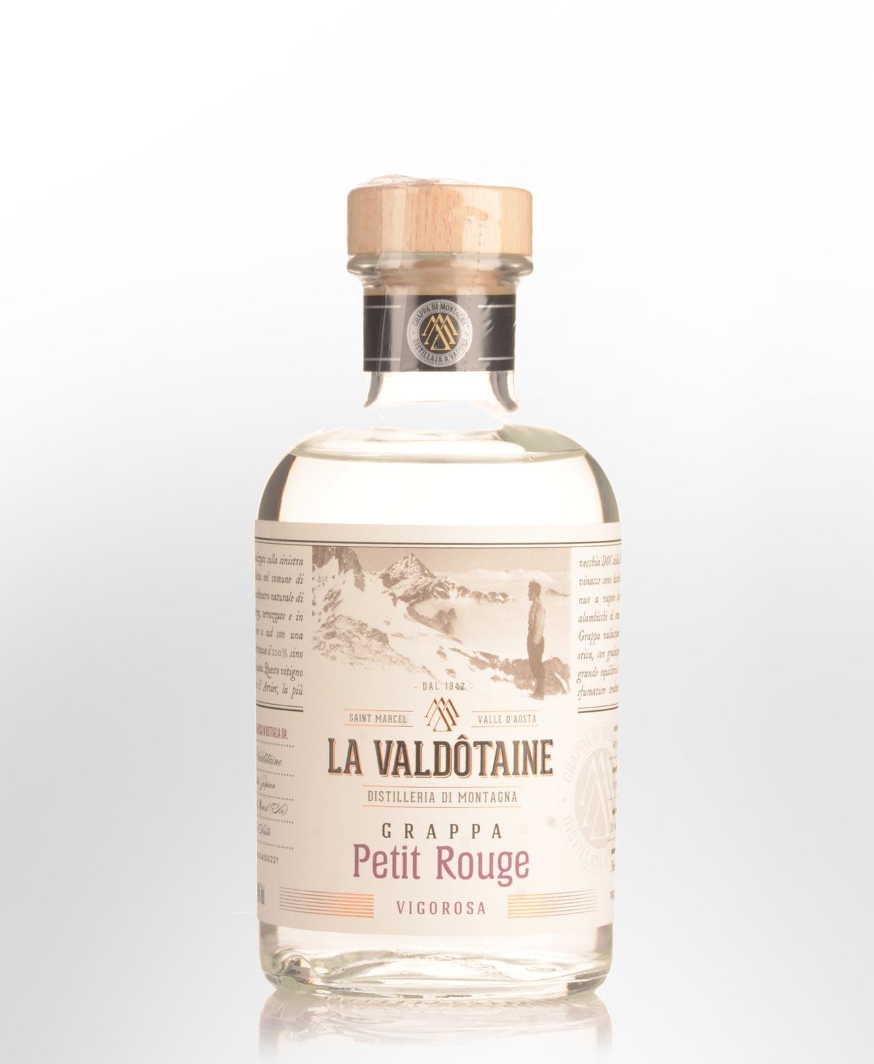 Distillato Grappa Petit Rouge La Valdotaine