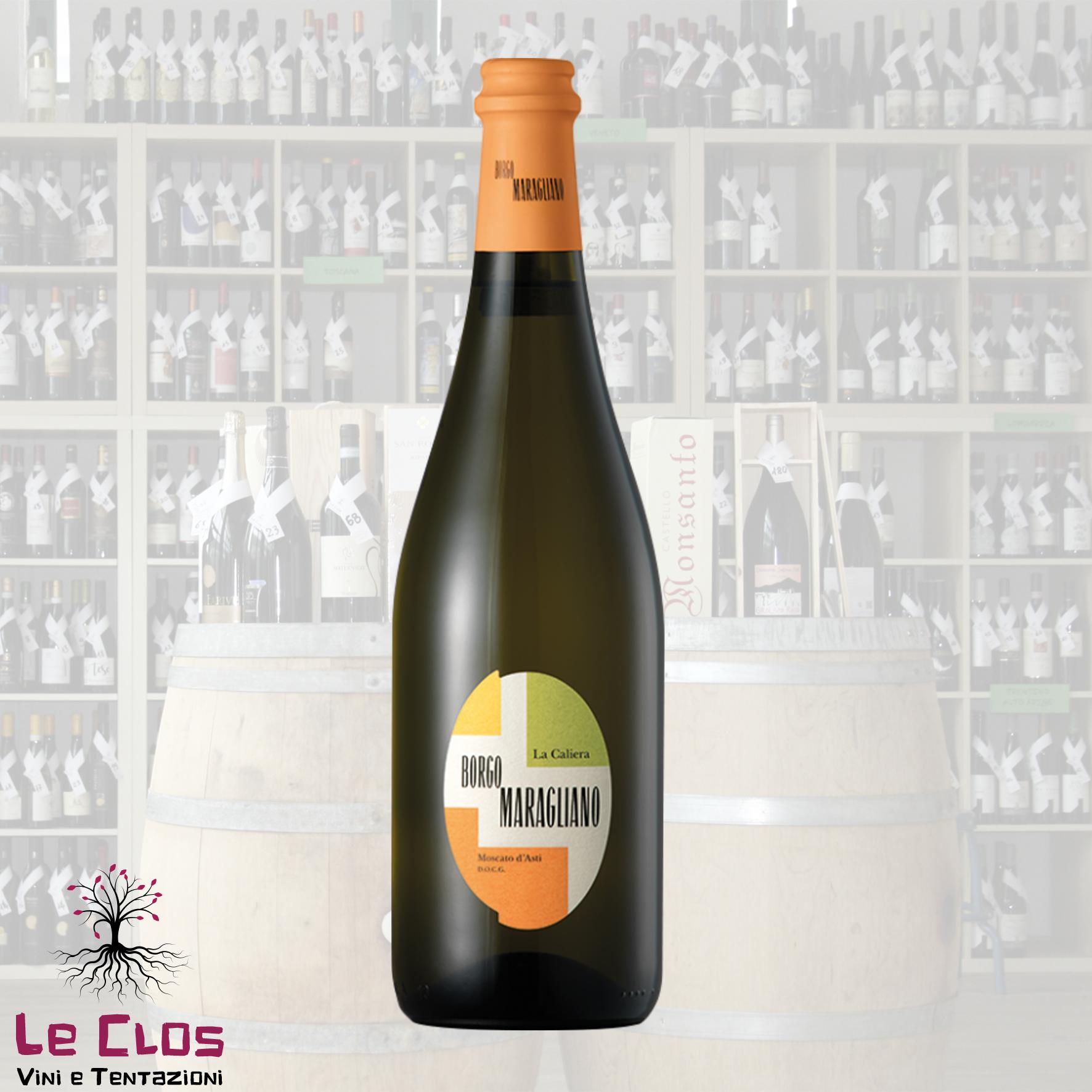 Vino bianco La Caliera Moscato d'Asti