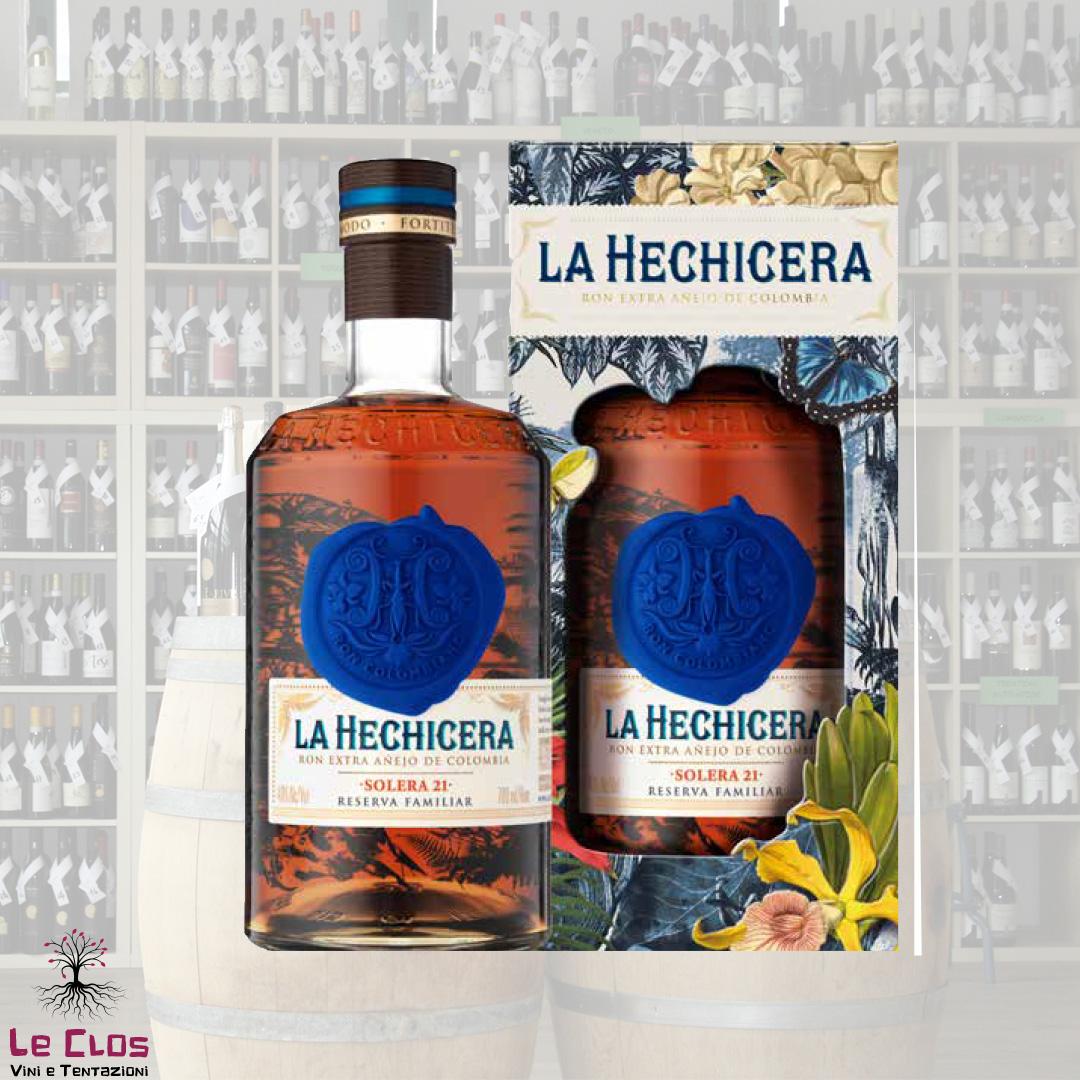 Distillato Rum Extra Anejo de Colombia a La Hechicera