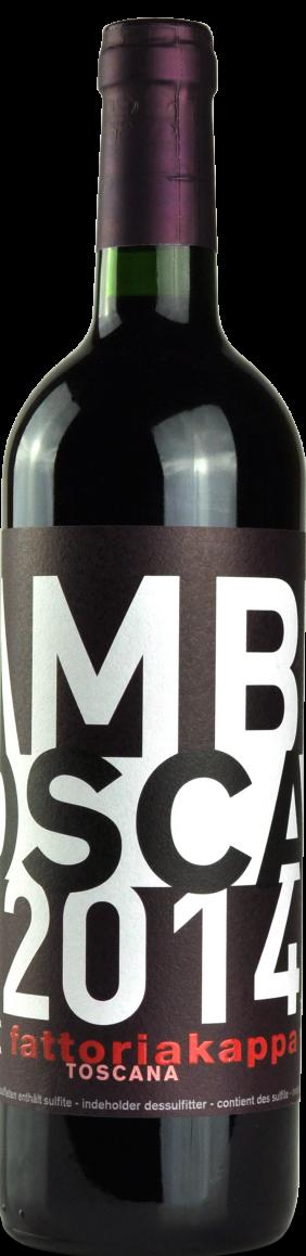 Vino rosso Lambda Rosso