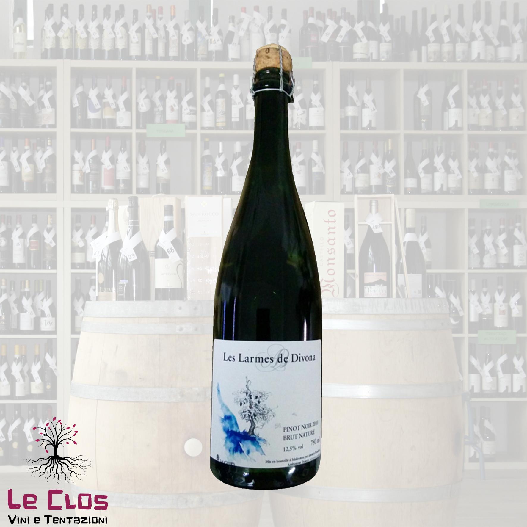 Vino rosso Les Larmes de Divona Chardonnay