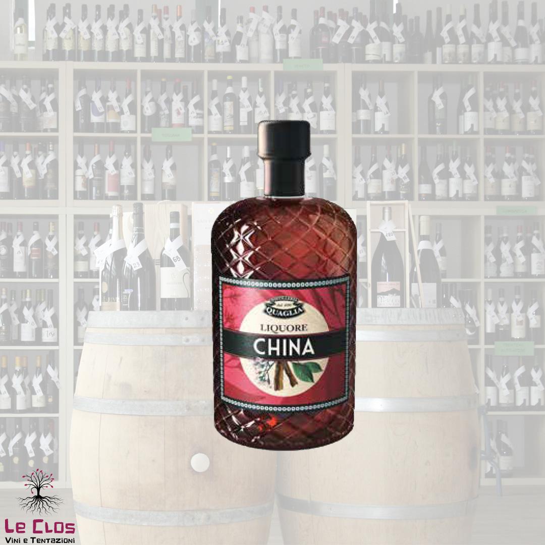 Distillato Liquore alla China Distilleria Quaglia