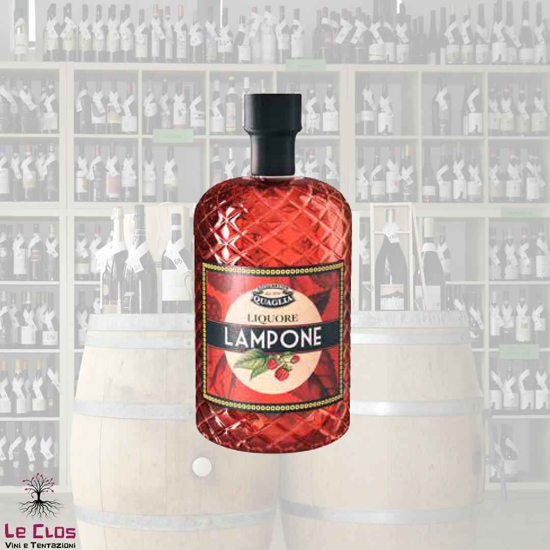 Distillato Liquore al Lampone Distilleria Quaglia
