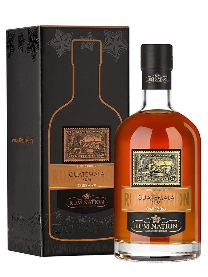 Distillato Rum Guatemala Gran Reserva Nation