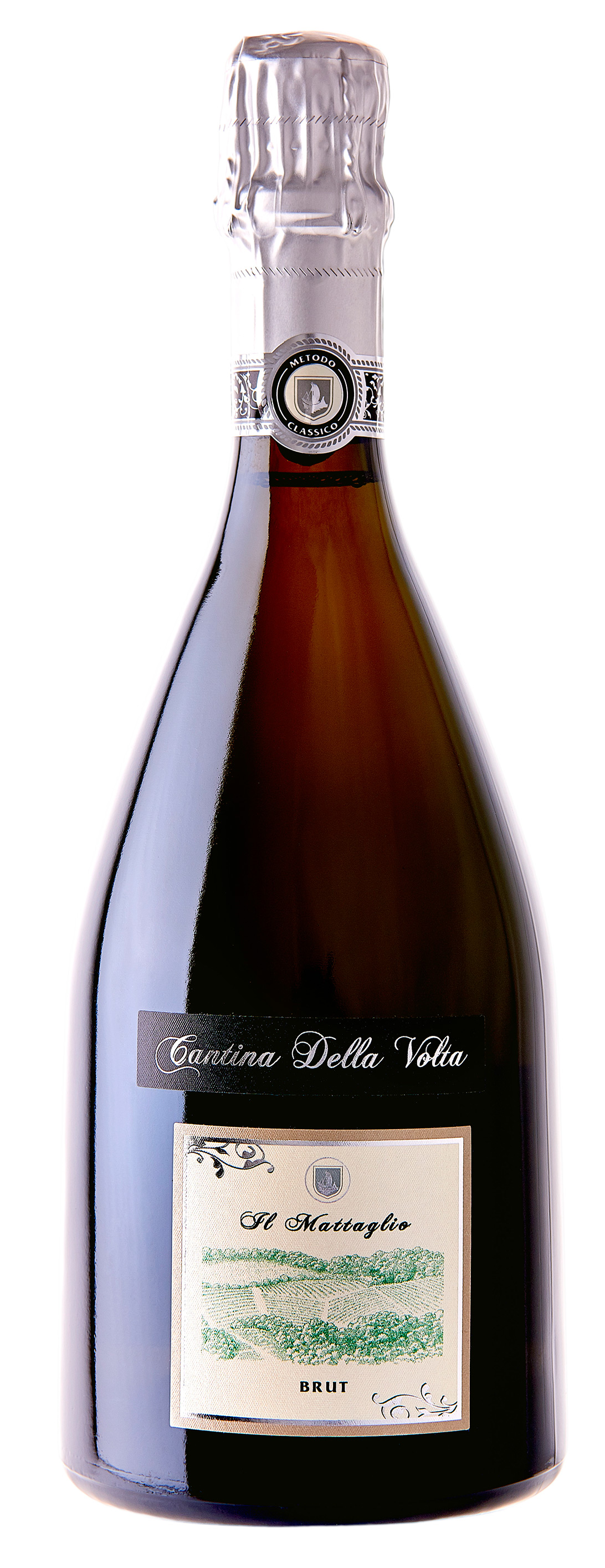 Vino rosso Spumante Metodo Classico Mattaglio Brut VSQ