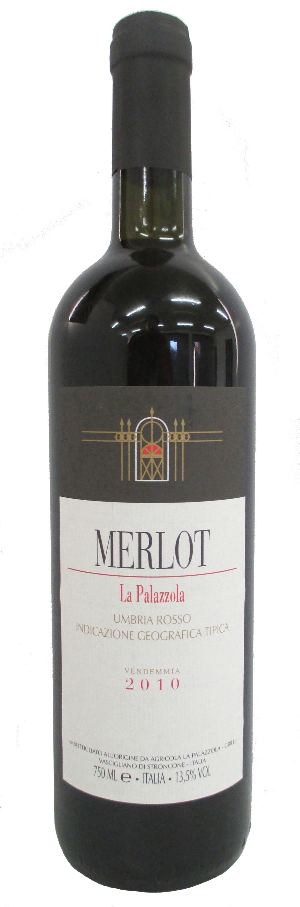 Vino rosso Merlot Umbria