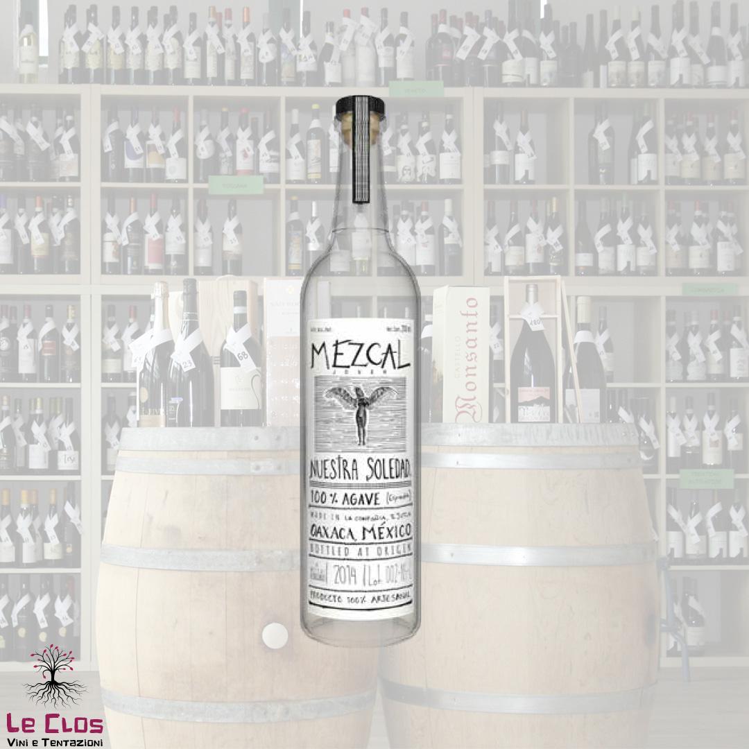 Distillato Mezcal Ejtula Artesanal Nuestra Soledad