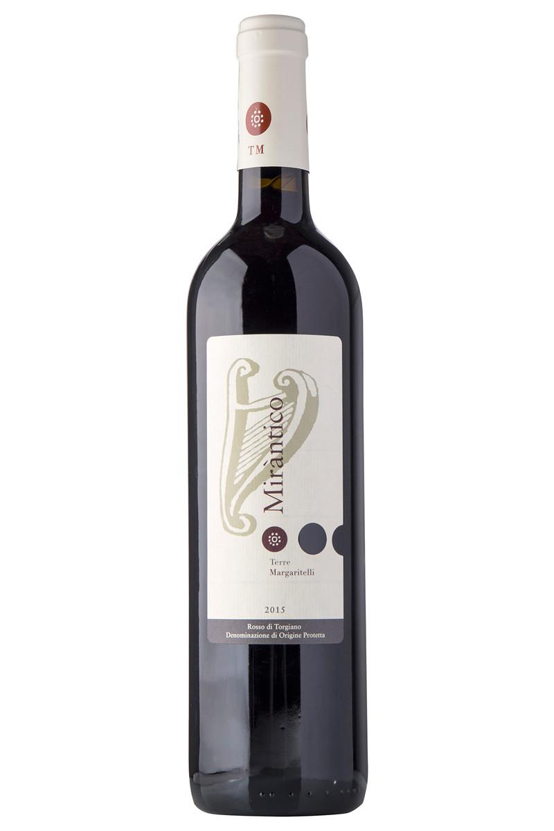 Vino rosso Mirantico Rosso di Torgiano