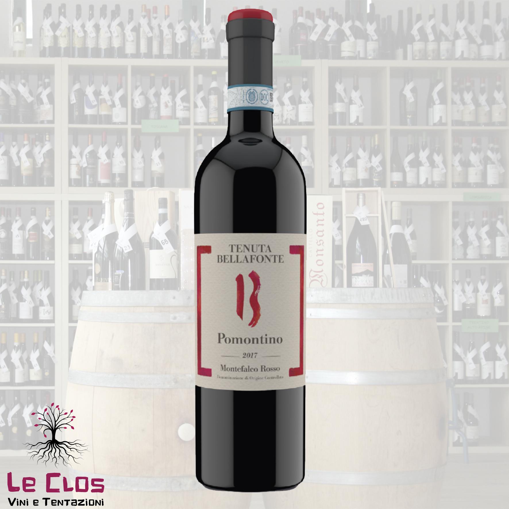 Vino rosso Pomontino - Montefalco Rosso