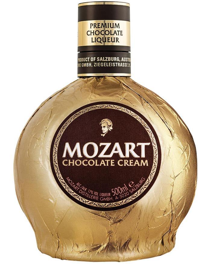 Distillato Liquore alla Crema di Cioccolato  Mozart