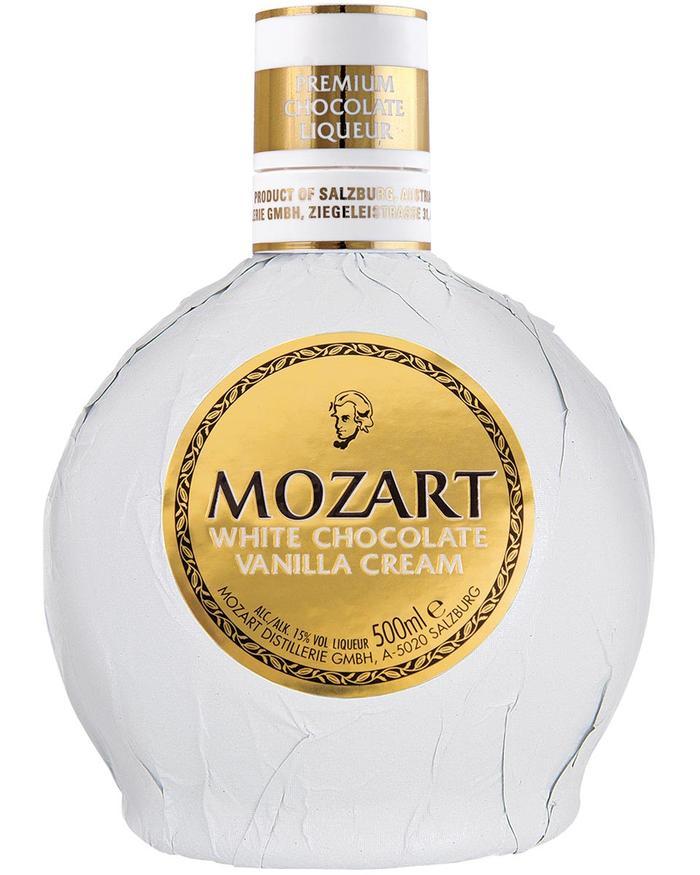 Distillato Liquore di Cioccolato Bianco e Vaniglia  Mozart