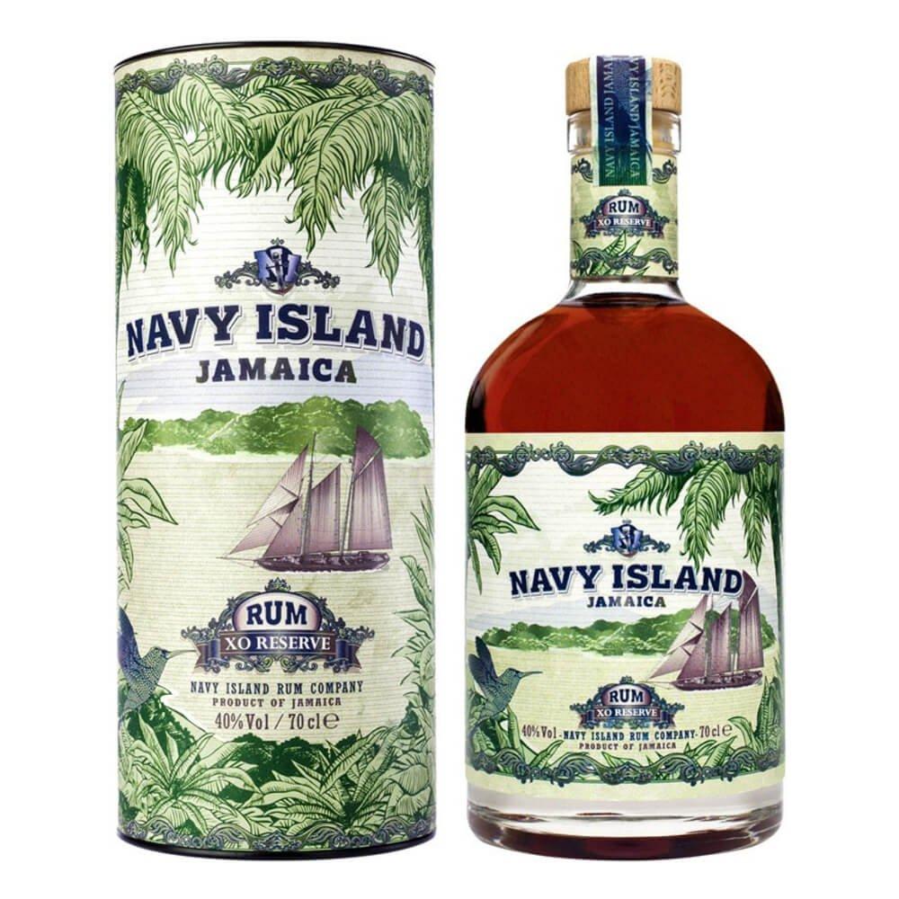 Confezione regalo Jamaica Rum XO Reserve Navy Island