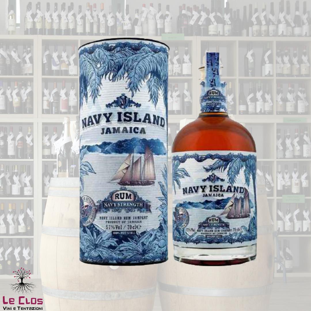 Distillato Rum Navy Strenght Jamaica Navy Island
