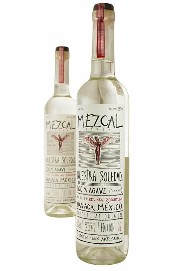 Distillato Mezcal Artesanal Zoquitlan Nuestra Soledad