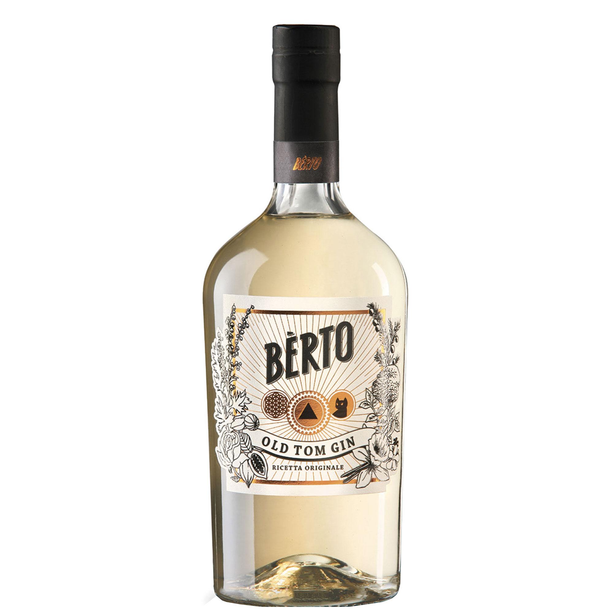 Distillato Old Tom Gin Berto Distilleria Quaglia