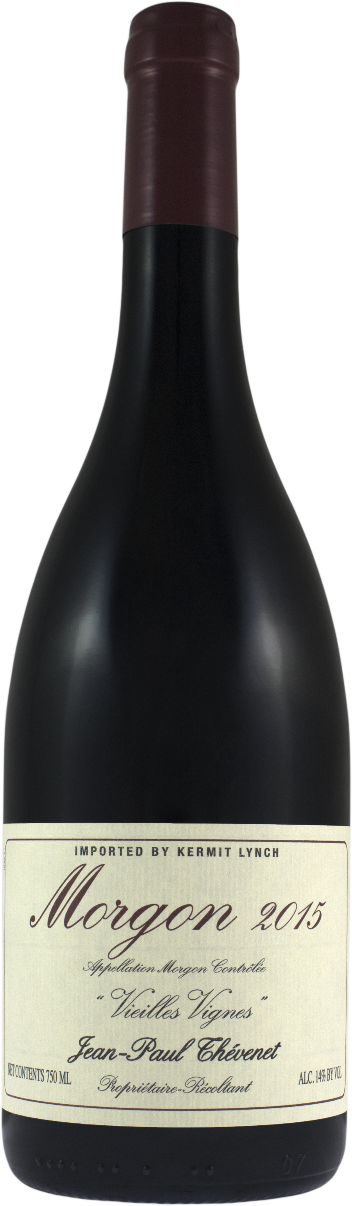 Vino rosso Morgon Vieilles Vignes