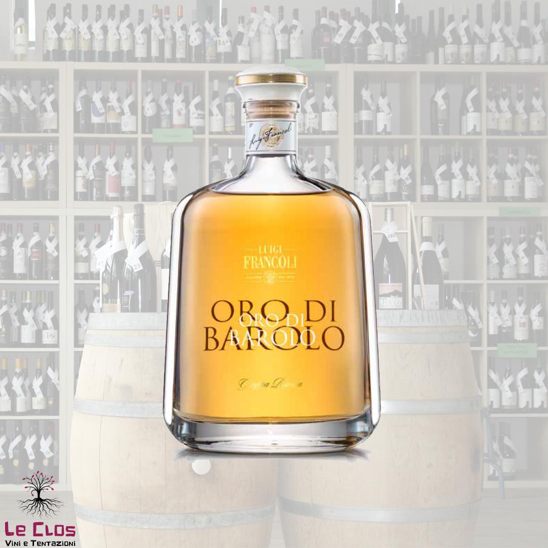 Distillato Grappa ORO di Barolo Riserva Francoli