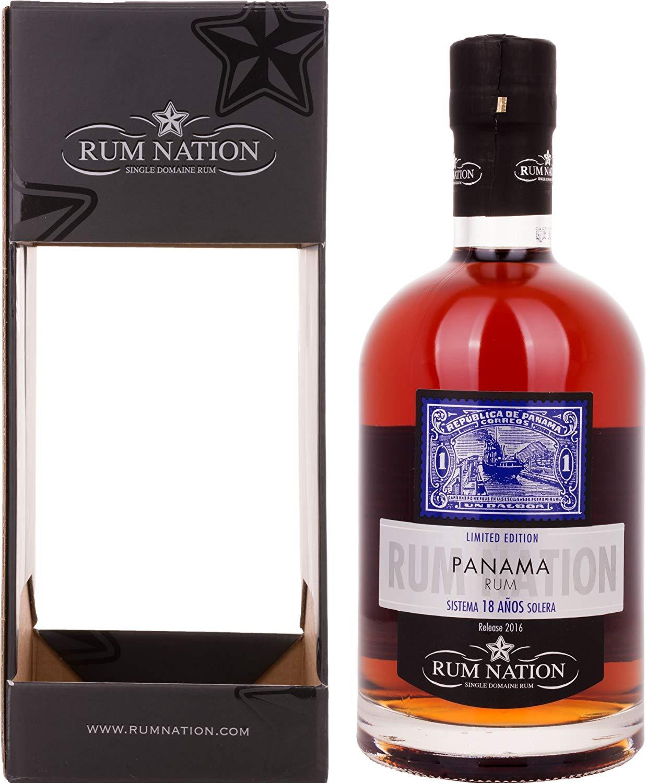 Confezione regalo Panama 18yo Oloroso Rum Nation