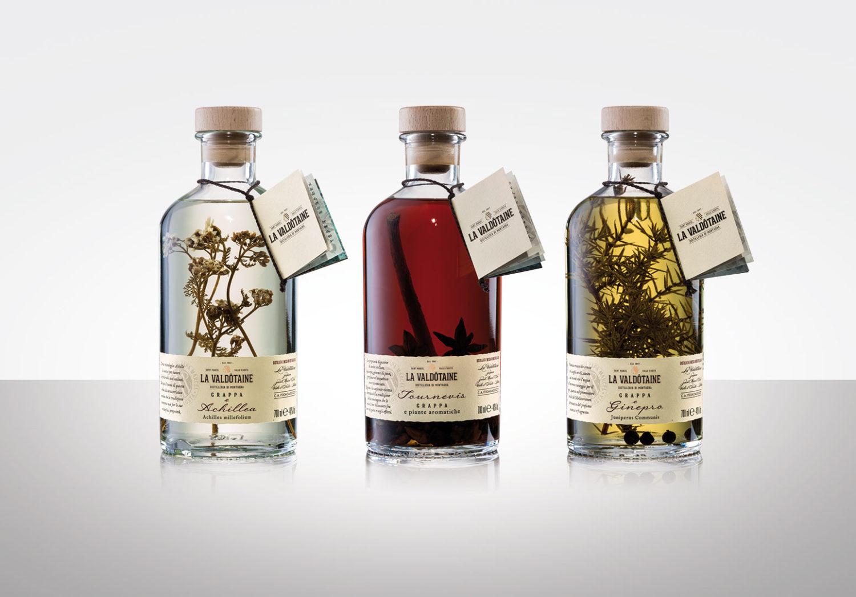 Distillato Grappa Blend Papà Marcel Achillea La Valdotaine