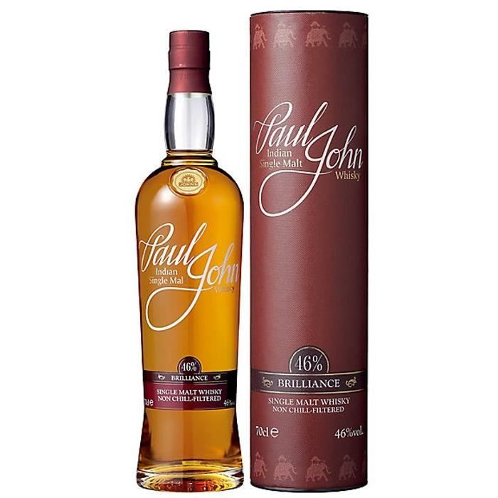 Distillato Whisky Brillance Single Malt Paul John