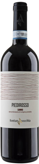 Vino rosso Piedirosso Sannio